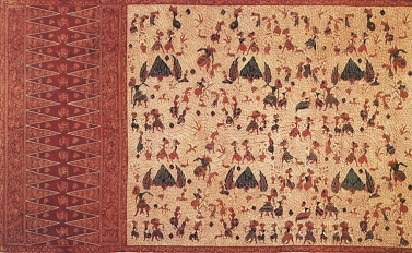 wayang batik theme