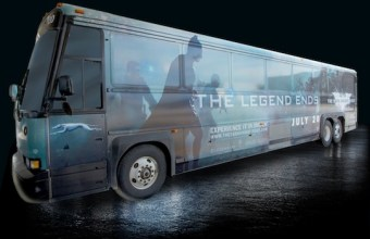 Dark Knight Rises Bus