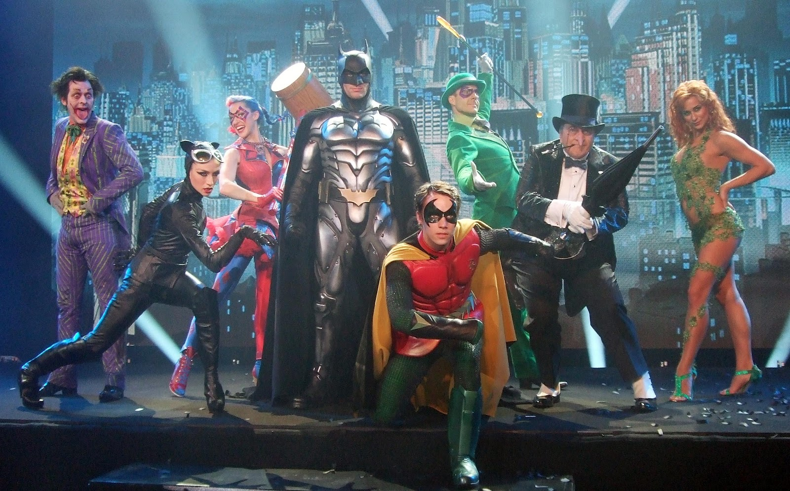 "Photo from 2012's ""Batman Live"" stage show"