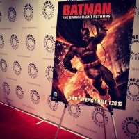 Batman News attends &#8216;The Dark Knight Returns, Part 2&#8242; premiere: photos, audio, and more