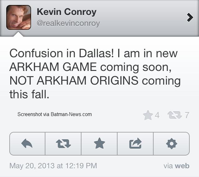 Kevin Controy Batman Arkham