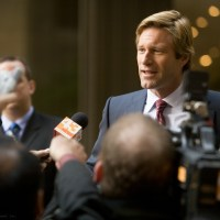 Aaron Eckhart talks 'The Dark Knight Rises', Heath Ledger, Christopher Nolan and more (audio)