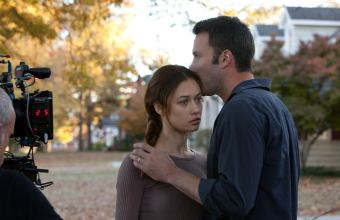 "Olga Kurylenko and Ben Affleck in ""To the Wonder"""