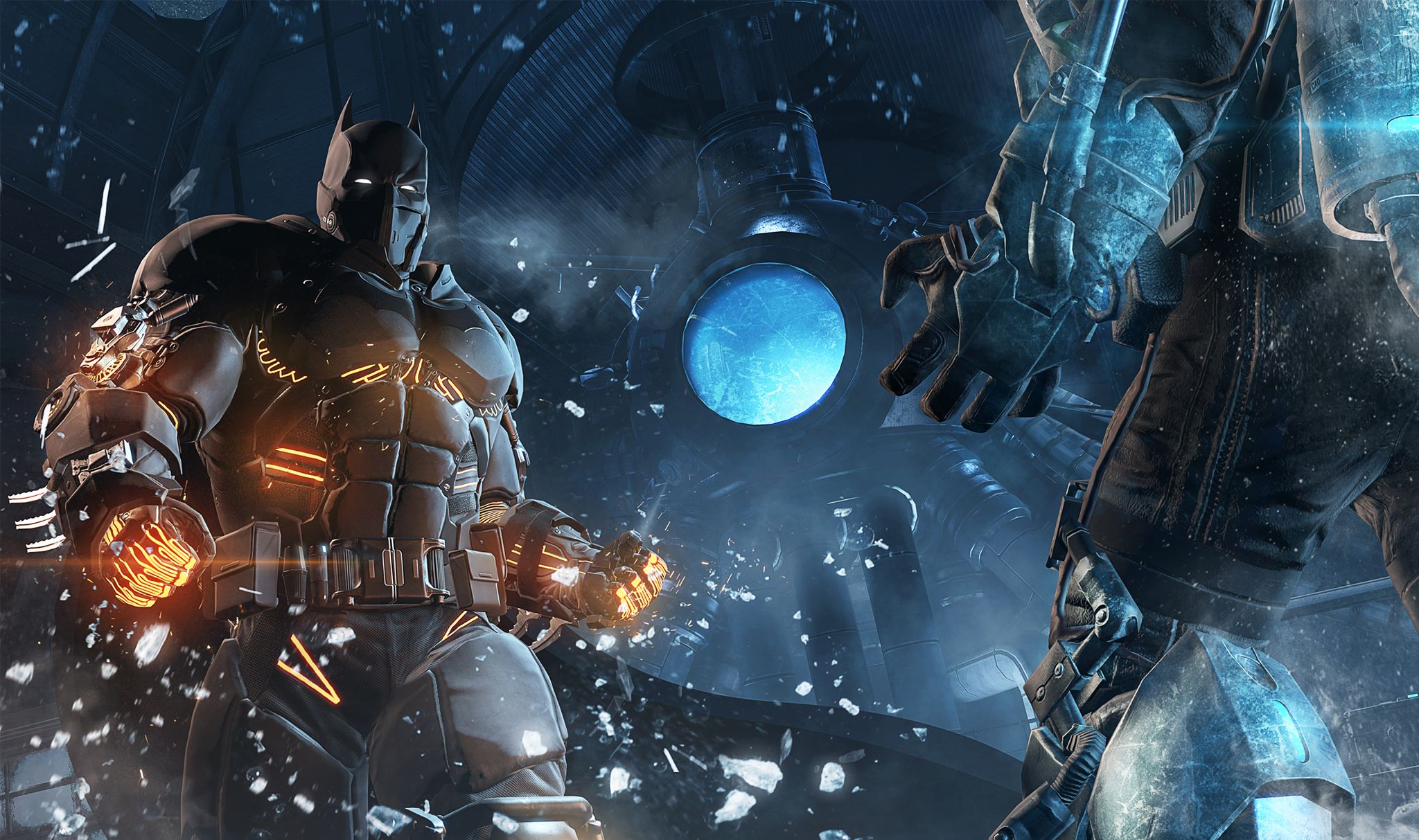 Batman Arkham Origins Cold Heart DLC The Extreme Environment XE Suit Comes Equipped With New Gadgets Including Thermal Gloves And