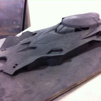 Prototype model shows the new Batmobile in full (photo)