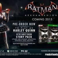 Confirmed: Harley Quinn story mode coming to 'Batman: Arkham Knight'