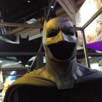 Ben Affleck's 'Batman v Superman: Dawn of Justice' Batsuit is on display at Comic-Con (photos)
