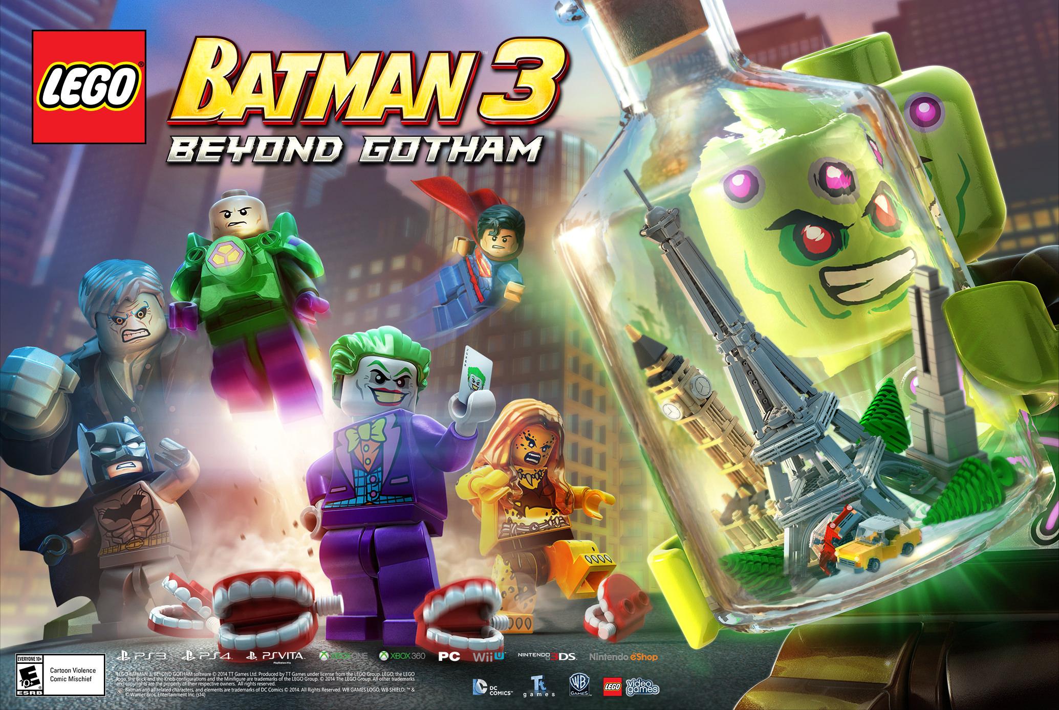 DLCs for LEGO Batman 3: Beyond Gotham | PC Games n News