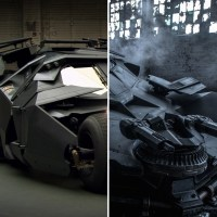 Poll: Ben Affleck's Batmobile vs. Christian Bale's Tumbler: which is your favorite?
