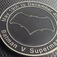 Henry Cavill gave these commemorative 'Batman v Superman' coins to the crew