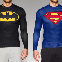 Under Armour is back with cool new Batman and Superman gear