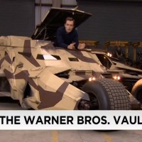 Inside Warner Bros.' secret movie props archive: Batman, Bane, the Tumbler, and more (video)