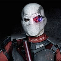 Deadshot rappels down a building in new 'Suicide Squad' set photos and video
