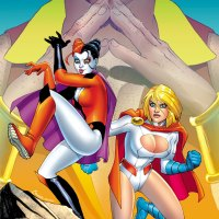 Harley Quinn / Power Girl #1 review