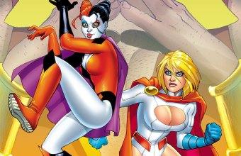 Harley and Powergirl 1