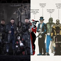 See how David Ayer's Suicide Squad differs from the comics (photo)