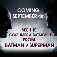 The 'Batman v Superman' costumes and Batmobile are coming to the WB Studio Tour this week