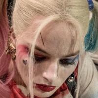 Margot Robbie just gave David Ayer a 'Suicide Squad' tattoo as Harley Quinn (photos)