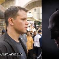 "Matt Damon: ""Jason Bourne would kick the shit out of Batman!"""