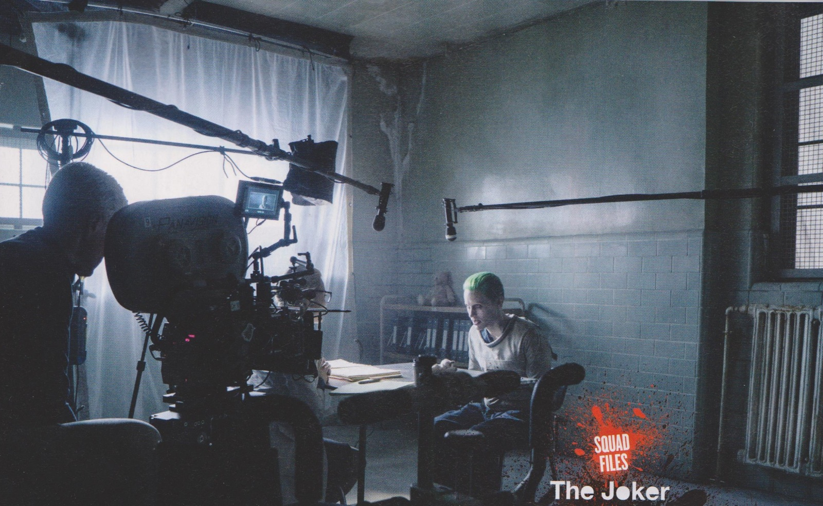 suicide squad new joker and harley quinn photos revealed ign. Black Bedroom Furniture Sets. Home Design Ideas