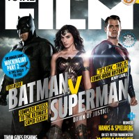 Batman, Superman, and Wonder Woman grace the cover of Total Film