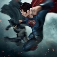 New look at Batman fighting Superman in 'Batman v Superman' promo art