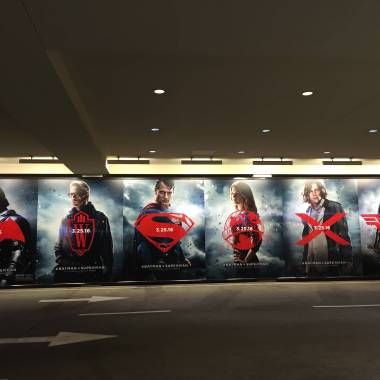 'Batman v Superman' has taken over The Grove in Los Angeles (photos)