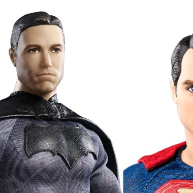 First look at Batman and Superman Barbie dolls