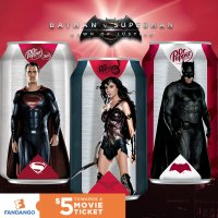 Dr. Pepper reveals 'Batman v Superman' cans and prequel comics