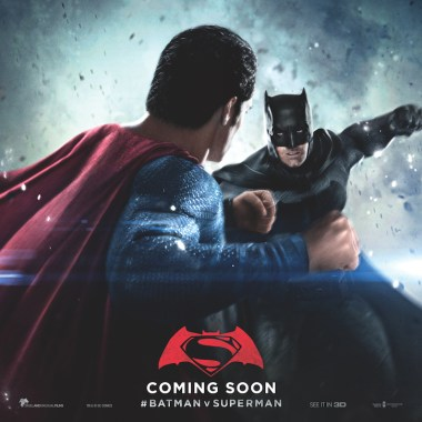 New 'Batman v Superman' posters show the fight from both perspectives