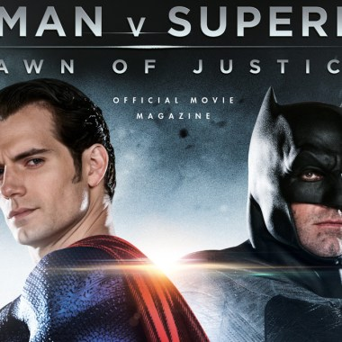 Official 'Batman v Superman' magazine features 100 pages of photos and interviews