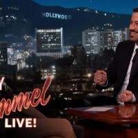 Gal Gadot talks about 'Batman v Superman' and her breasts on Jimmy Kimmel Live (video)