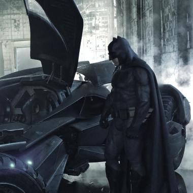 'Batman v Superman' production designer shares new Batman and Batmobile images