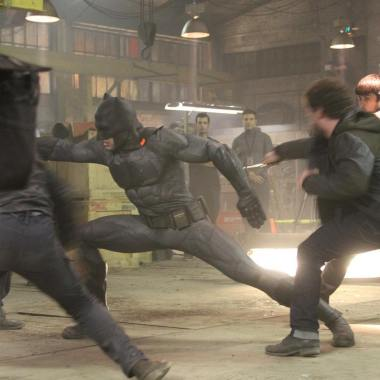 Ben Affleck's stuntman shares behind-the-scenes photos from 'Batman v Superman'