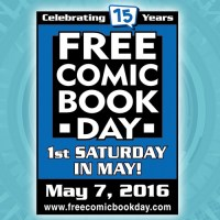 Free Comic Book Day is Saturday, May 7th