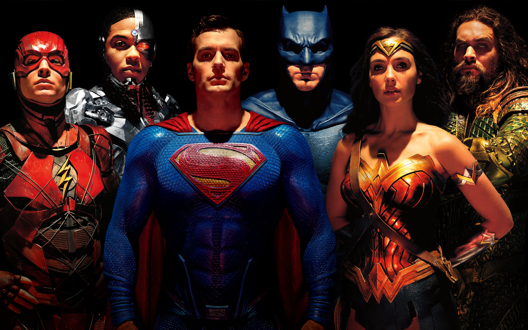 Superman finally gets included in a  Justice League  poster   Batman     View Full Size