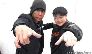 超花火プロレス_大仁田厚&長与千種
