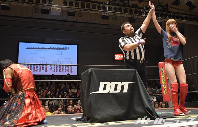 赤井沙希がじゃんけん大会に勝利し男色ディーノへの挑戦権獲得!