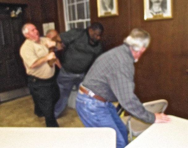 Violence ensues at Amite council: Longterm councilman arrested