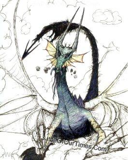 A #Dragon #Doodle | #LWN #Louisiana #CenLA #jWe #SeriousPickle