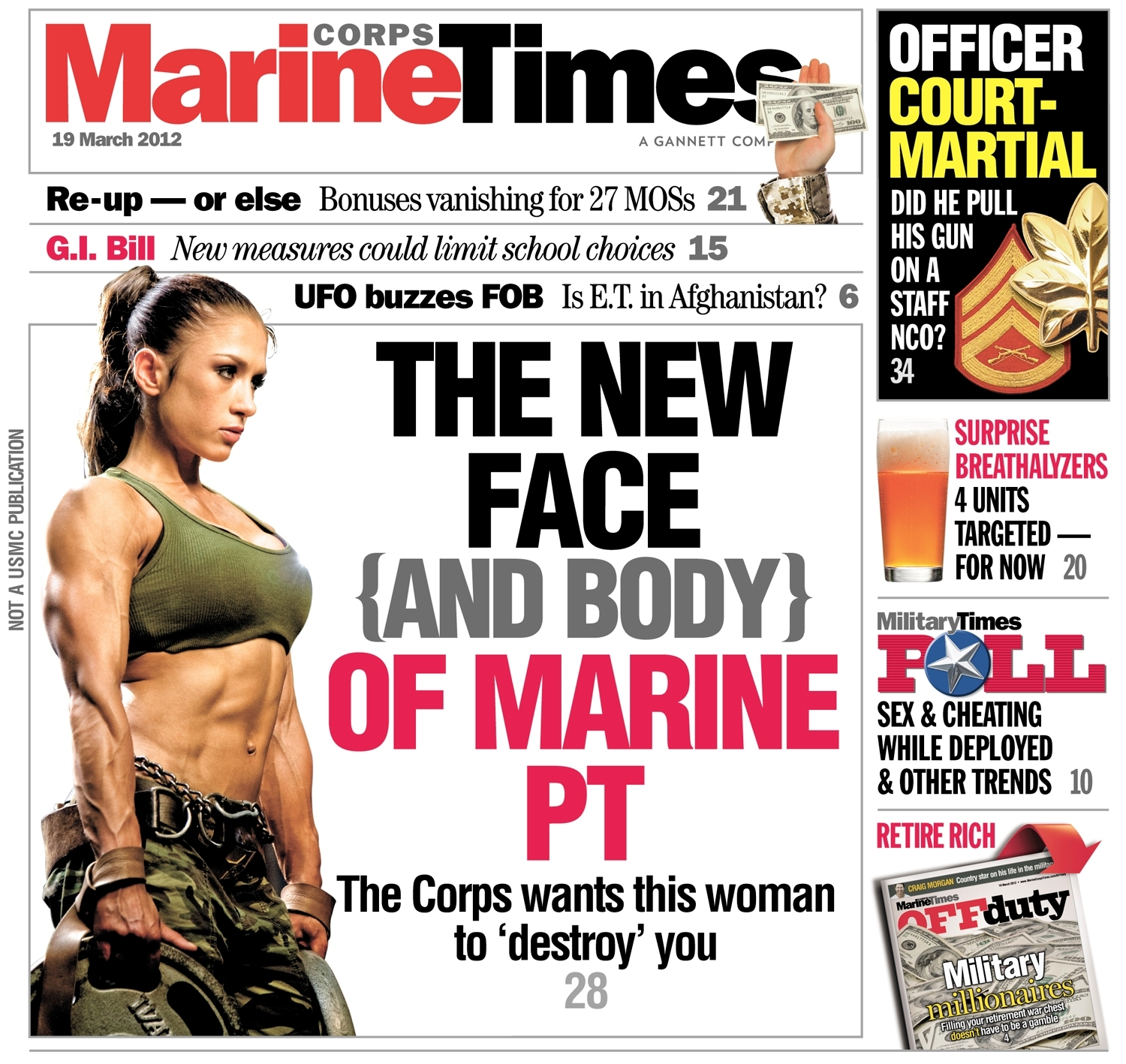 Behind the Cover: The new face (and body) of Marine PT