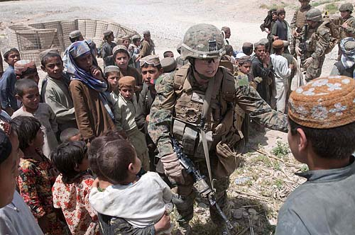 """Children's shura"" in Afghanistan"