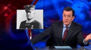 """""""The Colbert Report"""" screenshot"""