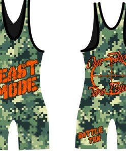 Battle Tek Athletics Beast Mode Wrestling Singlet