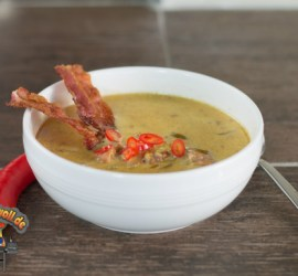 BaconChiliChesse Suppe