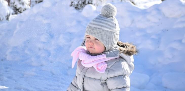 O inverno e a pele sensível das crianças