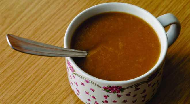 Sopa de feijão – quentinha e nutritiva