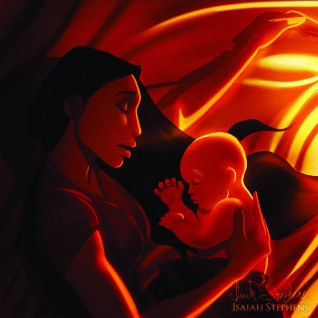 princesas da disney mães