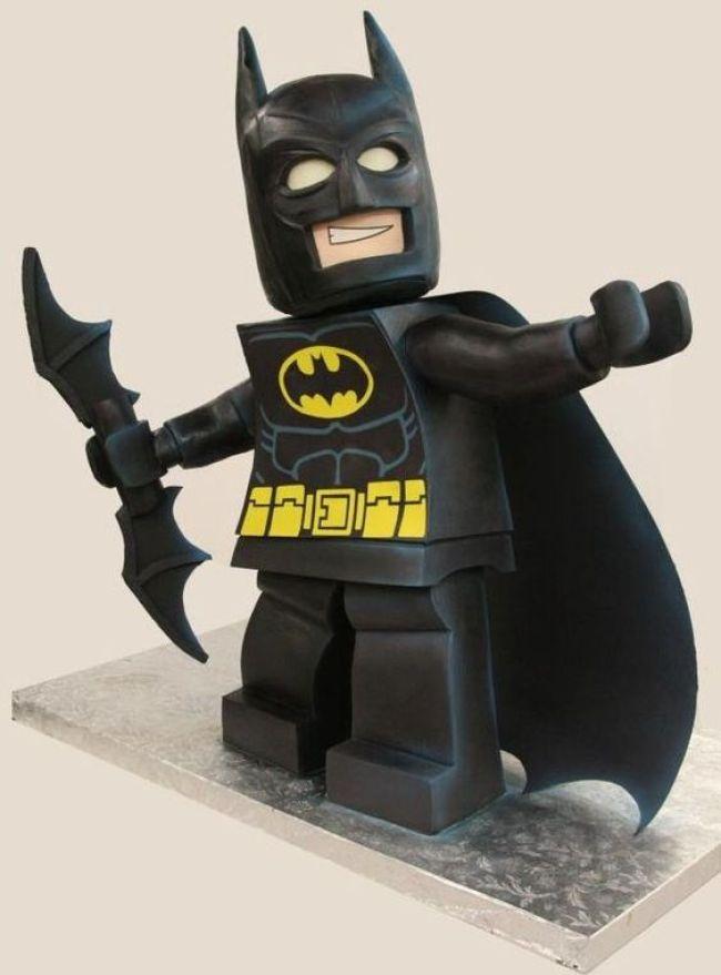 topo de bolo festa lego batman