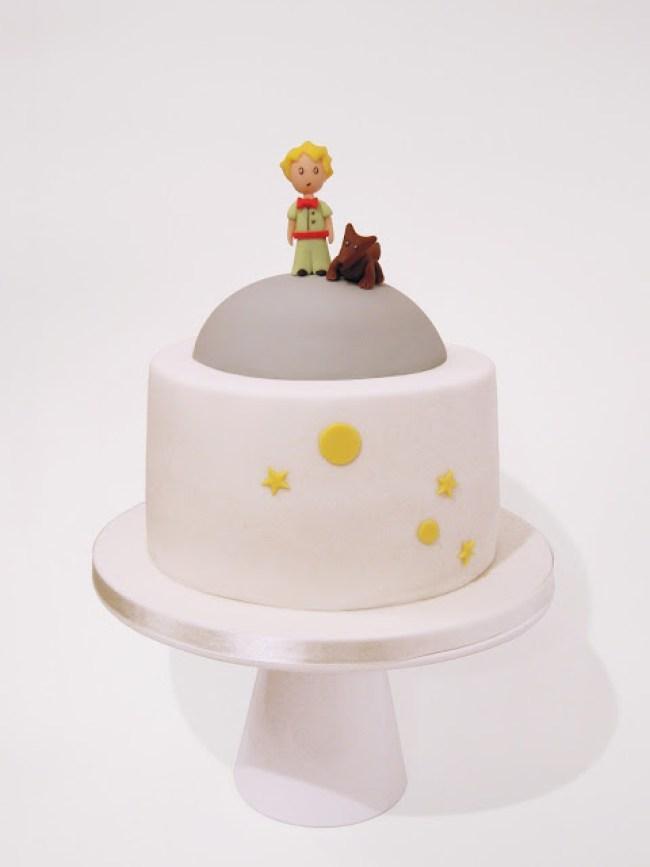 bolo clean pequeno príncipe